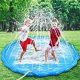 Faburo 170cm Sprinkle and Splash Water Play Mat Set Summer Spray...