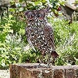 Solar Powered Animals - Outdoor Garden Ornaments -...