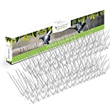 STAINLESS STEEL BIRD SPIKES - Durable Pigeon Repellent - Great...