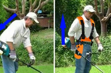 harness for strimmer