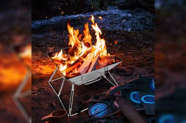portable camping fire pit